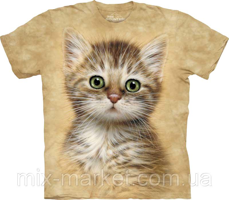 Футболка The Mountain - Brown Striped Kitten