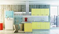 Кухня АЛЛЕГРО (RODA): фасад из постформинга (Италия) с двусторонним глянцевым HPL-пластиком