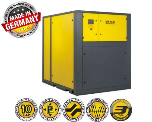Воздушный винтовой компрессор COMPRAG A-7510, 75 кВт, 10 бар