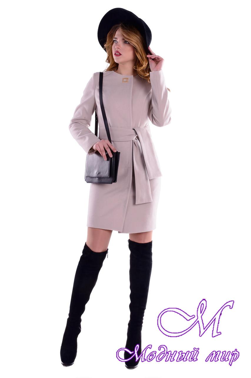 Женское кашемировое осеннее пальто (р. S, M, L) арт. Луара 5369