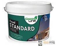 ТМ Green Line  FASAD STANDARD -  фасадная  краска (ТМ Грин Лайн  ФасадСтандарт) 10 л.