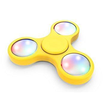 Спиннер светящийся Fidget Toy Spectre yellow