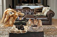 Меховые покрывало с шкур лесиц, фото 1