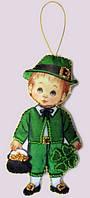 Набор для вышивания и шитья куклы из фетра Кукла. Ирландия-М