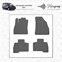 Автомобильные коврики Stingray Peugeot Bipper  2008-