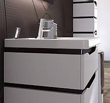"""Тумба под раковину для ванной комнаты Сенатор ТНБ-2 Д 60 с умывальником """"Кантэ"""" Юввис, фото 2"""