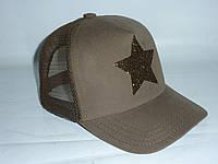 Кепка летняя хаки со звездой, фото 1