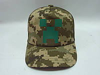Камуфляжная кепка Майнкрафт, фото 1
