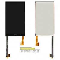 Модуль (сенсор + дисплей) дляHTC One M7 Dual Sim 802worig.чорний