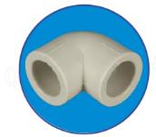 Колено 90*25  ASG-Plast
