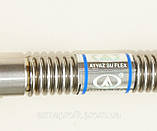 "Шланг гибкий металлический для воды в/н ½"" L-50см AYVAZ Pу10, фото 7"
