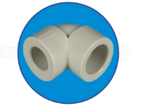 Колено редуцированное 25*20  ASG-Plast