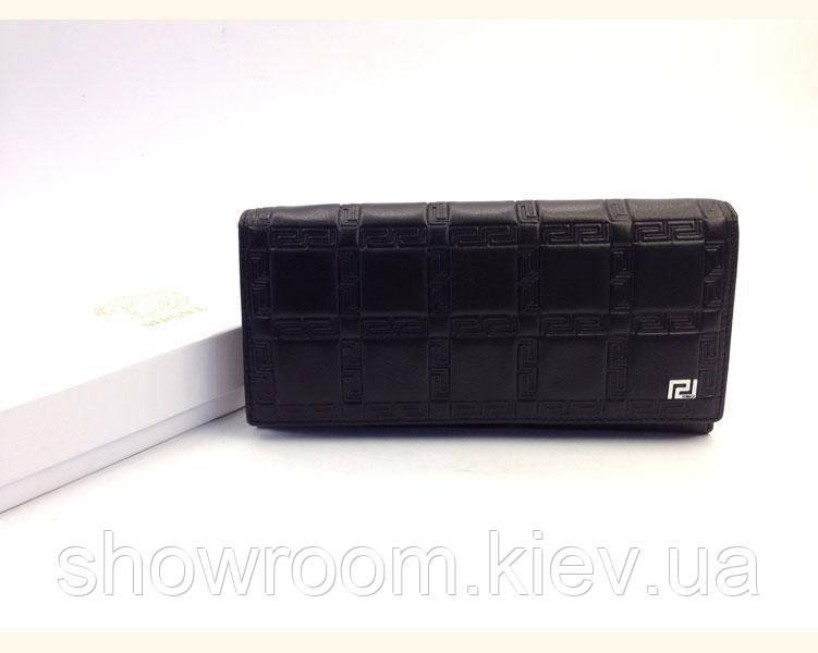 Женский кошелек в стиле Versace (V-3801) black