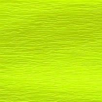 Бумага гофр. флуоресц. желтая 20%  (50см*200см)