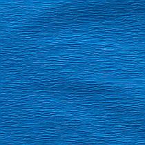 Бумага гофр. флуоресц. синяя 20%  (50см*200см)