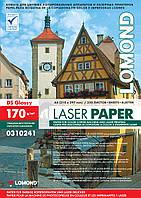 Двусторонняя глянцевая фотобумага для лазерной печати, 170г/м2, А4, 250 листов