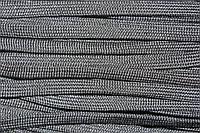 Шнур плоский 10мм (100м) черный