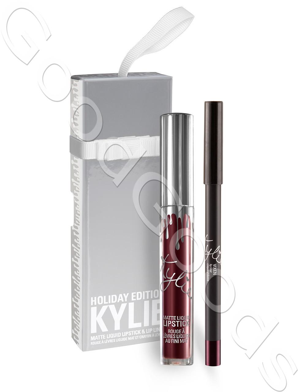 Лимитированная версия Kylie Lip Kit Vixen (помада+карандаш) - GoodGoods в Харькове