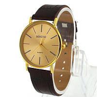 Часы мужские наручные кварцевые модные Mingbo