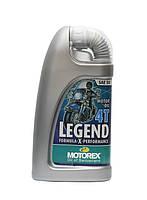 Минеральное моторное масло для классических мотоциклов MOTOREX LEGEND 4T SAE 50