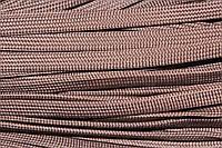 Шнур плоский 10мм (100м) коричневый (шоколад)