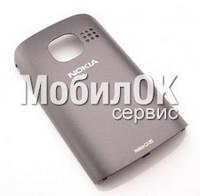 Задняя крышка для Nokia C2-05 серая, оригинал (9446566)