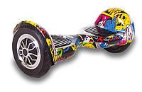 Гироскутер Smart Balance U8 10 дюймов Hip-Hop (граффити), фото 1