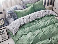 """Детский комплект постельного белья """"Viluta"""" твил-сатин простынь на резинке Вилюта №134"""