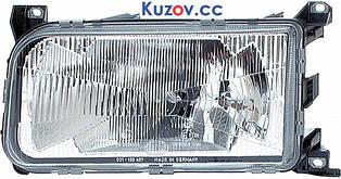 Фара VW Passat B3 88-93 левая (Depo) механич./электрич. 357941017