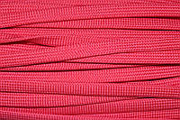 Шнур плоский 10мм (100м) красный