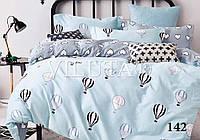 """Детский комплект постельного белья """"Viluta"""" твил-сатин простынь на резинке Вилюта №142"""