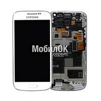 Дисплей для Samsung I9190/I9192/I9195 Galaxy S4 mini белый, оригинал (GH97-14766B)