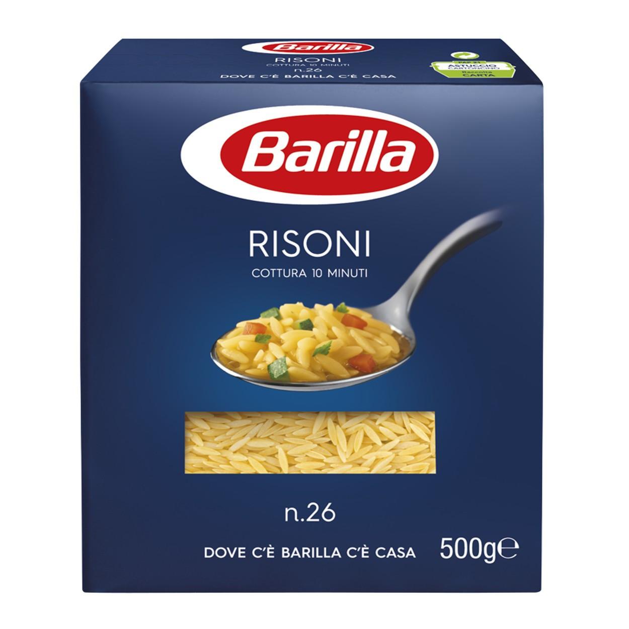 Макаронные изделия Barilla Risoni n26 500 г