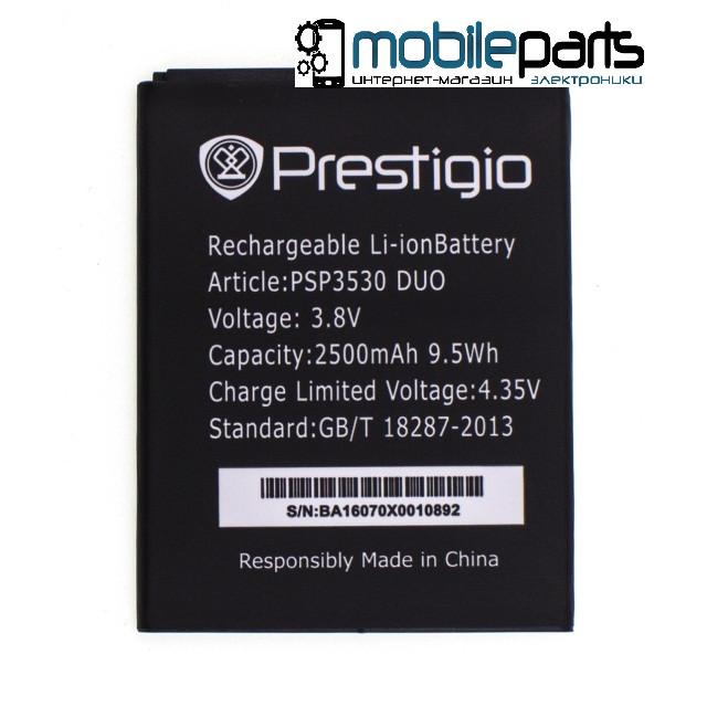 Оригинальный аккумулятор АКБ (Батарея) PRESTIGIO PSP3530 2500mAh 3.8V