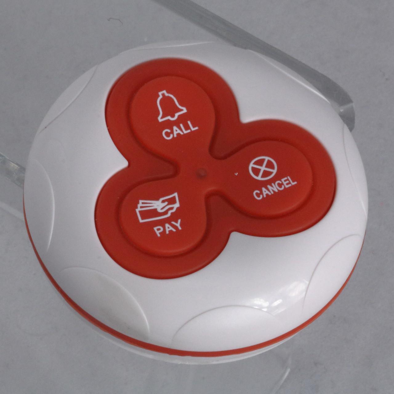 Кнопка виклику офіціанта і персоналу R-333 Red RECS USA