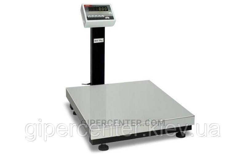 Товарные весы BDU300C-0607 элит 600х700 мм (со стойкой)