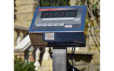Товарные весы BDU150C-0808 элит 800х800 мм (со стойкой), фото 2
