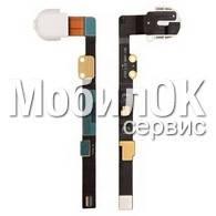 Шлейф для Apple iPad Mini коннектора наушников, белый