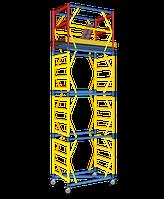 Вышка-тура «Атлант» Подмостки мобильные облегченные 1,6 Х 0,8 м