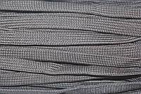 Шнур плоский 15мм (50м) черный, фото 1