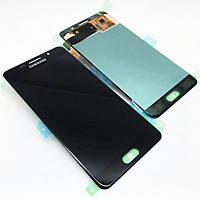 Дисплейный модуль для телефона Samsung Galaxy A5 2016 Duos SM-A510 16Gb Black GH97-18250B