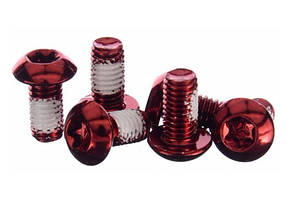 Болти Brand-X для роторів, червоні, 12 шт