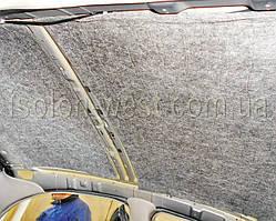 Поверх идет слой войлока. Как известно, войлок служит не только шумопоглотителем, а и хорошим теплоизолятором. Сохраняя тепло внутри салона зимой, и прохладу летом. В теплоизоляции салона крыша играет одну из главных ролей.