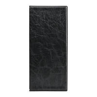Визитница настольная на 80 визиток Axent Xepter 2502 черная, фото 1
