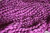 Товста, велика пряжа, 100% вовна овеча для валяння 50г (2м) Колір: Бузок 25-26 мкрн. Топсі. Гребінна стрічка, фото 2