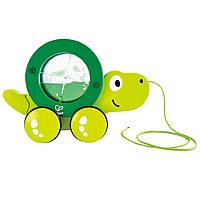 Детская каталка Hape Черепаха (E0354), фото 1