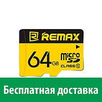 Карта памяти Remax MicroSDHC 64GB Class 10 ( )
