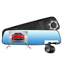 Зеркало регистратор  DV 400 справа экрана 4,3  дюйма Разрешение записи 1920×1080р