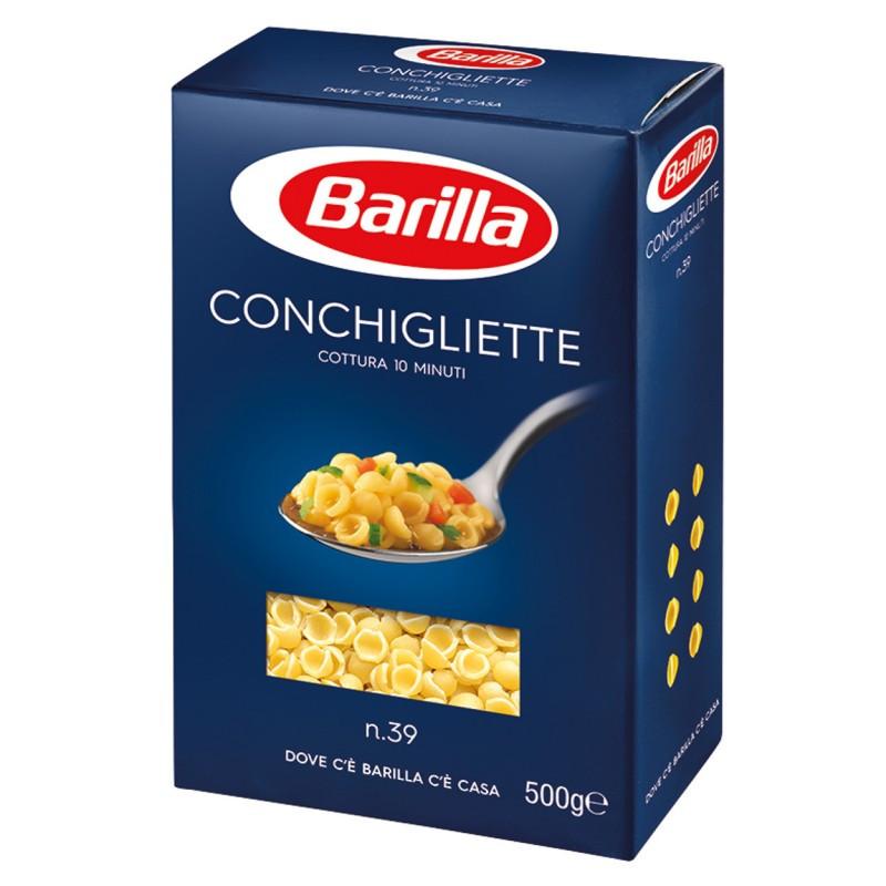 Макаронные изделия Barila Conchigliette n39 500 г