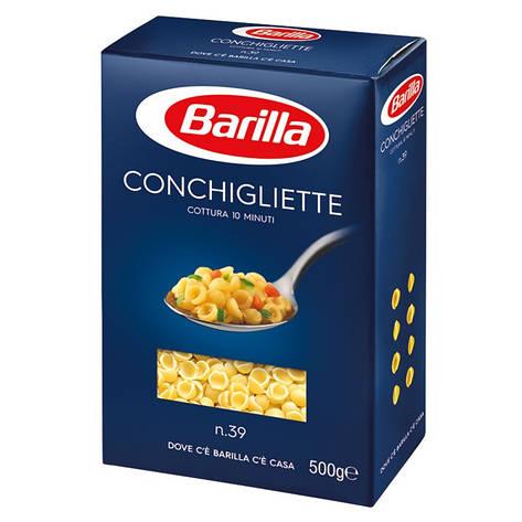 Макаронные изделия Barila Conchigliette n39 500 г, фото 2